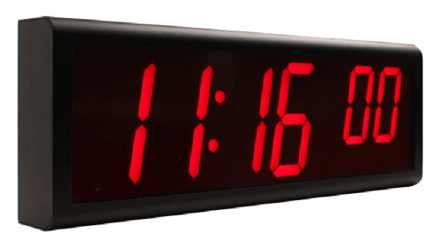 Relógio de parede digital Ethernet NTP