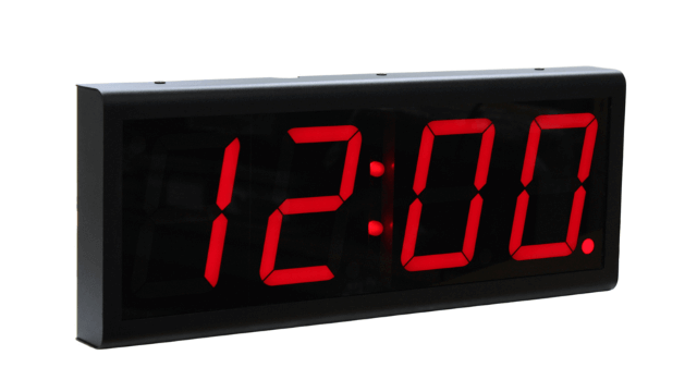 Relógio de parede Ethernet