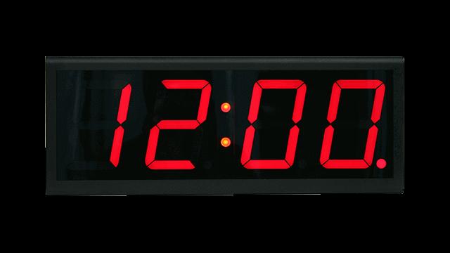 Relógio de parede conectado à Internet