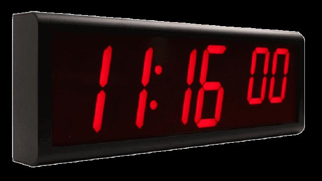 Relógios de parede digitais NTP